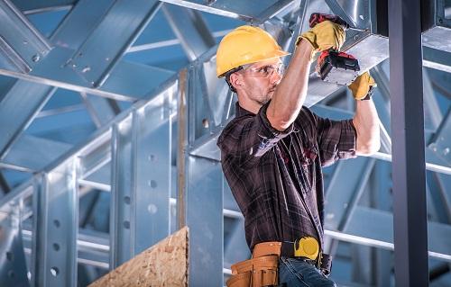 la conception et construction d'un bâtiment industriel
